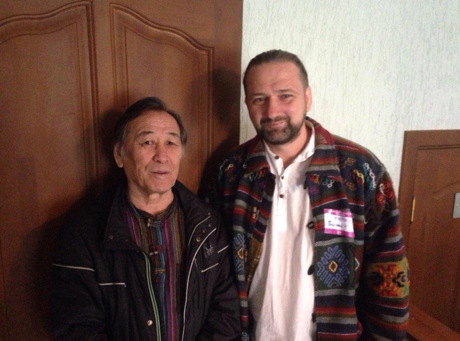 С николаем Ооржаком