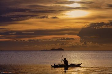 Закат на острове Сикихор