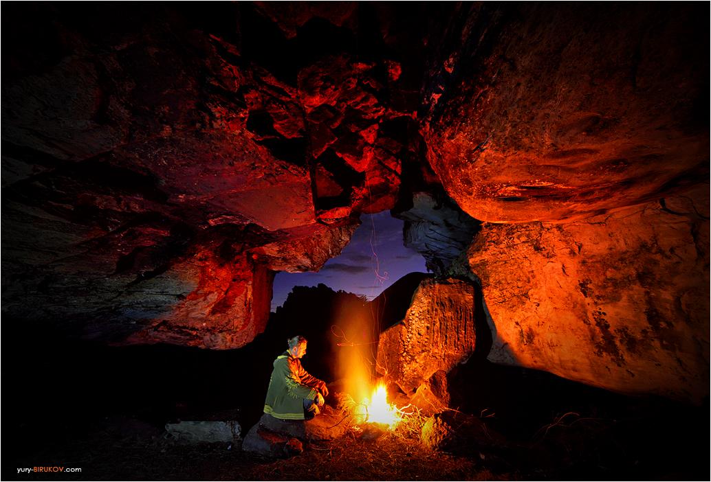 Один ночью в пещере. Горы Чиманимани в Зимбабве