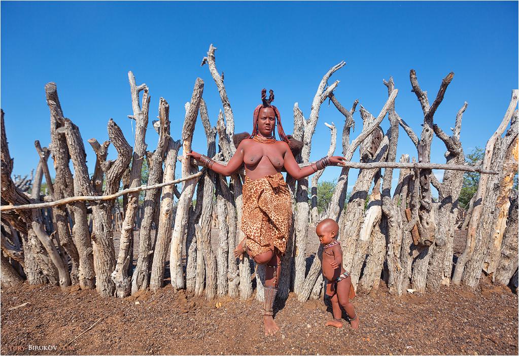Namibia - Женщина из племени Химба
