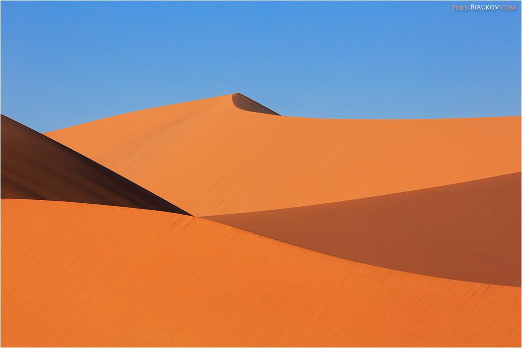 Namibia - Золотые дюны пустыни Намиб