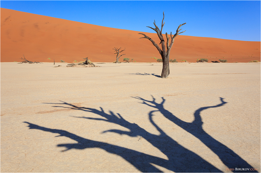 Namibia - Фантастические пейзажи Соссусфлея