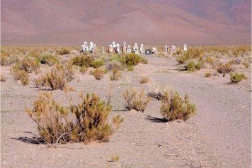 Кладбище в пустыне. Аргентина