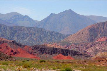 Разноцветные горы провинции Сальта. Аргентина