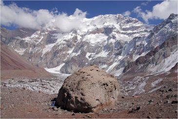 Самая высокая гора Западного полушария - Аконкагуа. Аргентина