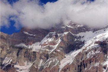 Склоны Аконкагуа. Аргентина