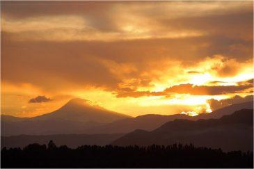Закат в Андах. Аргентина
