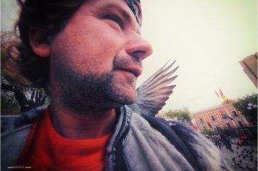 Автопортрет в Ла-Пасе. Боливия