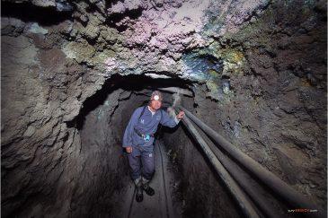 На прогулке по серебряным рудникам в Потоси. Боливия