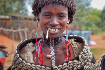 Женщина из племени Цамай