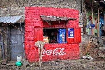 Кока-кола в Аддис-Абебе