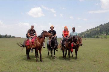 На лошадях в горах Бале. Эфиопия