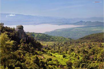 Озеро Абайя в Эфиопии