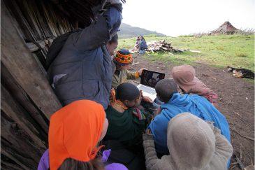 Первый ноутбук в горах Бале. Эфиопия