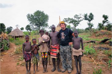 Племя банна в Эфиопии