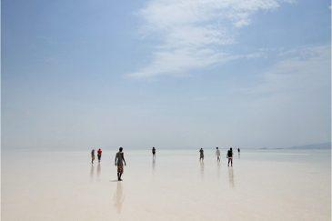 Соленое озеро во впадине Данакиль. Эфиопия