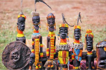 Сувениры племени Хамер