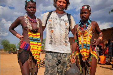 В гостях у племени Хамер. Эфиопия