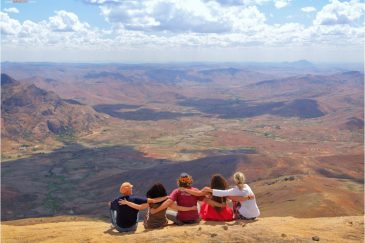 В горах Мадагаскара