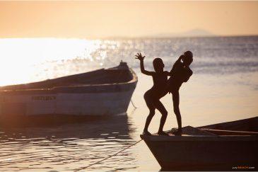 Деревенские детишки на озере Ньяса (Малави)