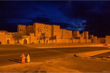 Касба (замок) Таурирт в городе Уарзазат