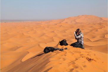 Фото в пустыне Сахара