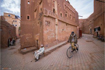 Старые кварталы города Уарзазат
