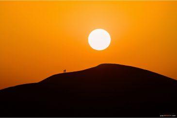 Восход солнца над пустыней Сахара