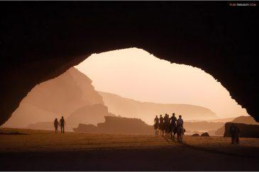 Золотой час на пляже Легзира