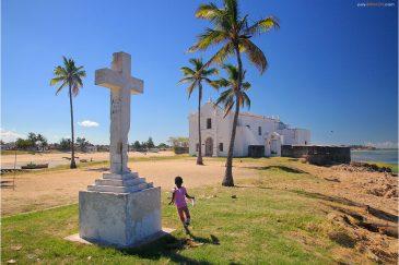 Церковь Санто Антонио на острове Мозамбик
