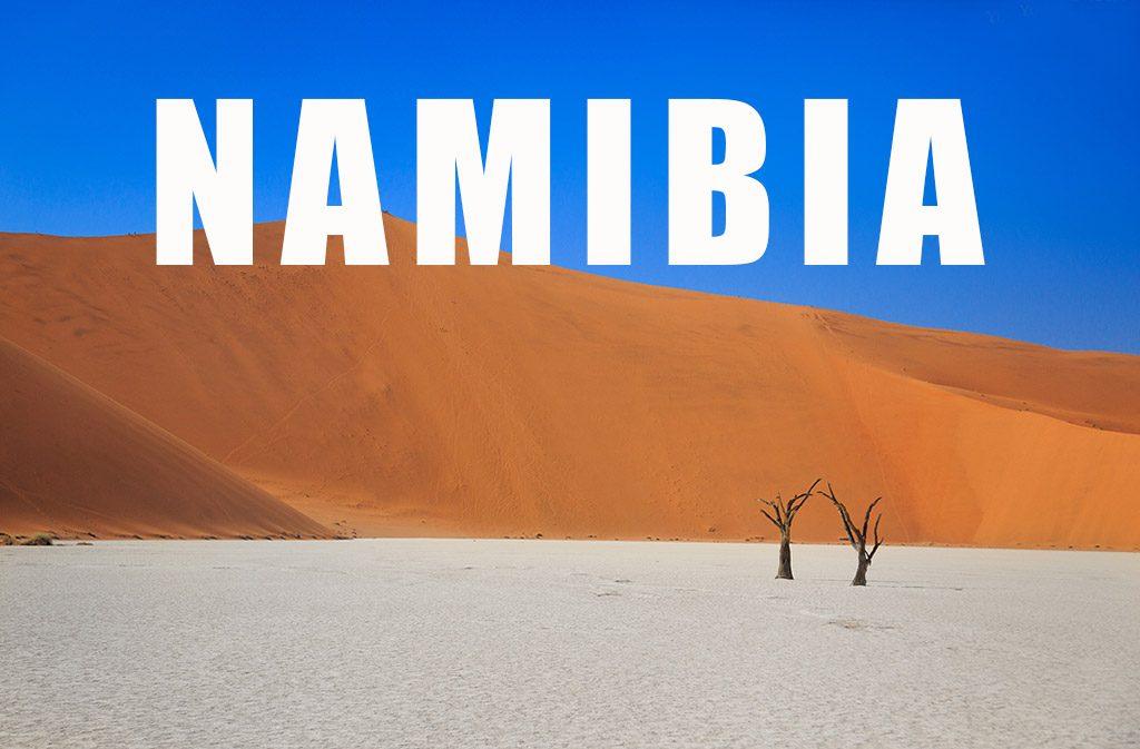 Фото Намибия
