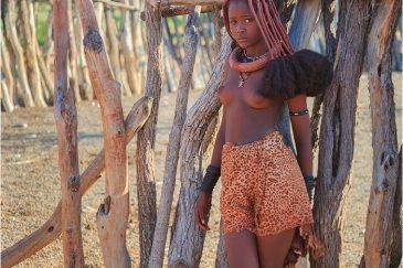 Девочка из племени Химба