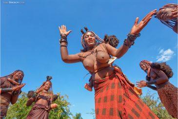 Танец племени Химба
