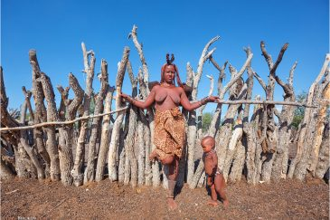 Женщина из племени Химба