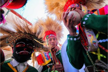 Маски и костюмы фестиваля в Куско