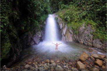 Водопад по дороге в Мачу-Пикчу. Перу