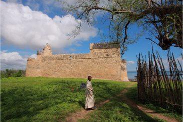 Арабская крепость в Килва Кисивани