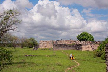 Дворец султана на острове Килва Кисивани. Танзания