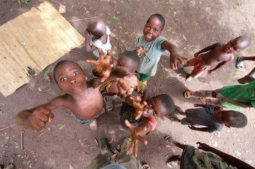 Дети в деревне Матема. Танзания