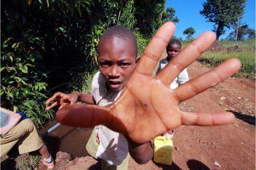 Дети в Танзании
