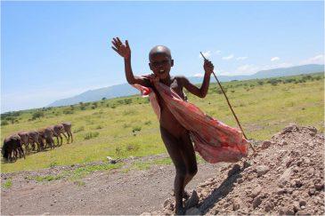 Мальчик масаи