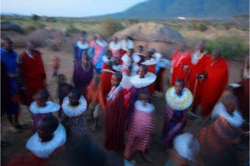 Праздник племени масаи
