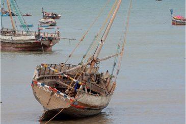 Морской отлив в Килва Кивиндже