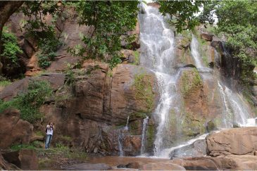 Водопад Сони в горах Усамбара