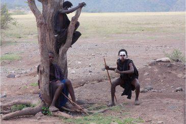 Подростки масаи