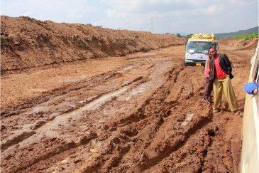 Танзанийская дорога Бабати - Сингида