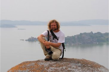 В городе Мванза на озере Виктория