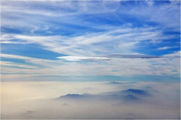 Вид с вершины Килиманджаро