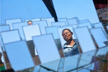 Портрет в зеркале. Лусака, Замбия