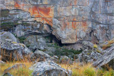 Пещера Красной Скалы в горах Чиманимани. Зимбабве